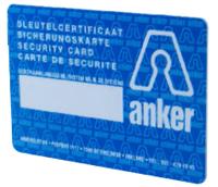Duplication clés Anker